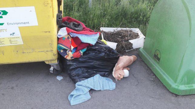 Tahle se třídí odpad v Lysé...
