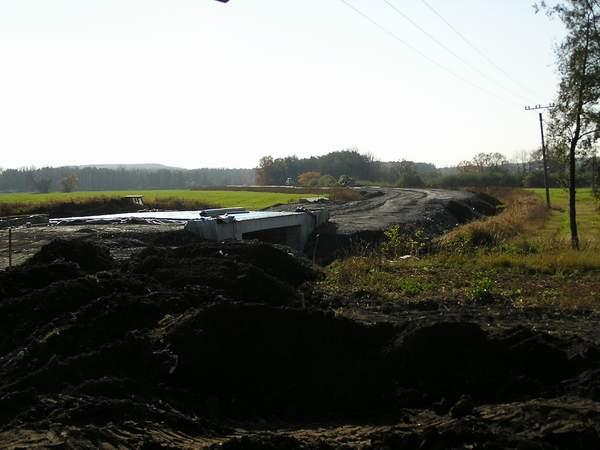 Takto probíhala stavba první části obchvatu (2005)