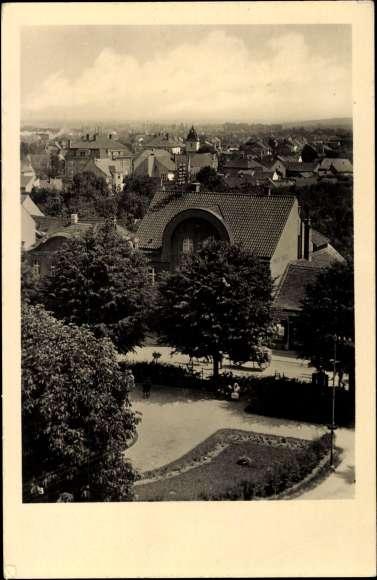 Pohled od kostela