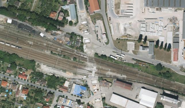 Lysá nad Labem bez železničního nadjezdu