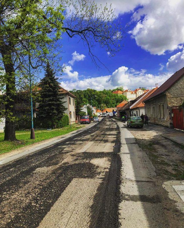 Rekonstrukce ulice Stržiště