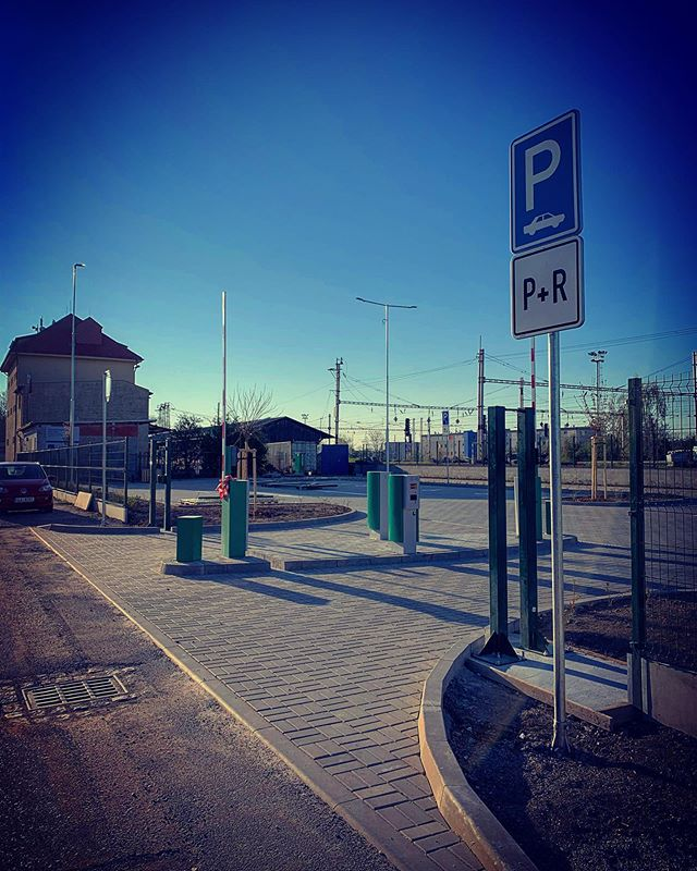 Téměř hotové parkoviště P+R v Lysé nad Labem 🅿️🚗