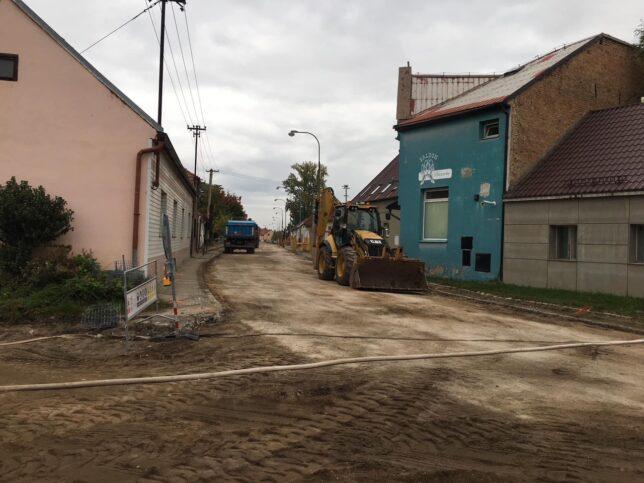 Lysá nad Labem - ulice Mírová